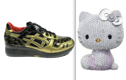 Hello Kitty, Asics and Swarovski