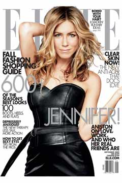 jennifer aniston elle