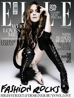 Lindsay Lohan Photo Stolen Jewelry Style Elle