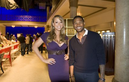 Mariah Carey and Usher for Macy's Come Together campaign