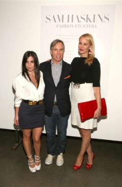 Tommy Hilfiger with daughter Ally and wife Dee