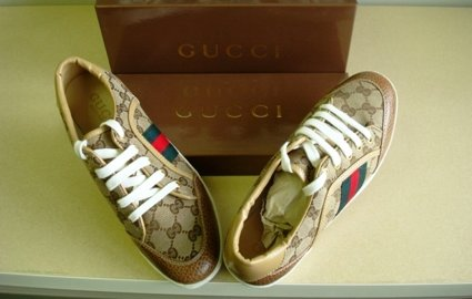 Fake Gucci shoes seized by customs officials