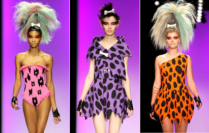 Flintstones Jeremy Scott