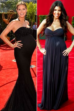 Two pregnant stars hit the red carpet. Photo: Mathew Imaging, WireImage ...