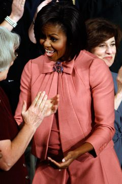 Michelle Obama skirt suit.
