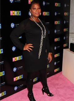 Queen Latifah sexiest plus-size woman