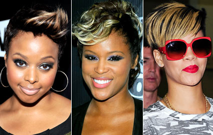 Chrisette Michele, Eve, and Rihanna