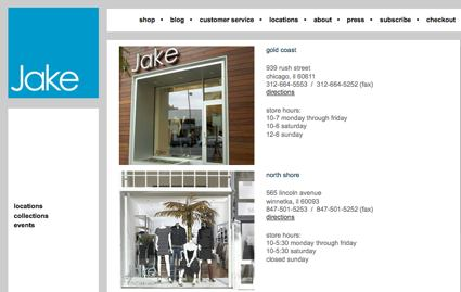Jake, Chicago specialty retailer