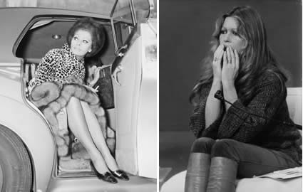 sophia loren brigitte bardot battle over Loren wearing fur