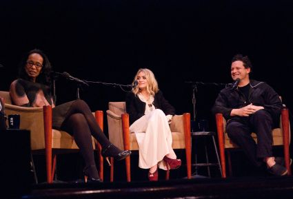Robin Givhan, Ashley Olsen and Isaac Mizrahi at the 92nd Street Y