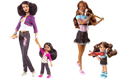 So In Style (S.I.S.) Barbie Dolls, Mattel