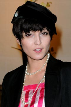 Irina Lazareanu Short Haircut