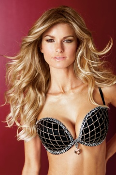 Marisa Miller models the Victoria's Secret fantasy bra.