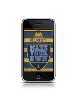 Rugby Make Your Own iPhone App Ralph Lauren