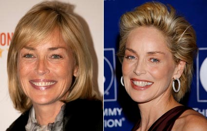 Sharon Stone's Basic Instinct Told Her to Try a New Hairstyle, and We ...