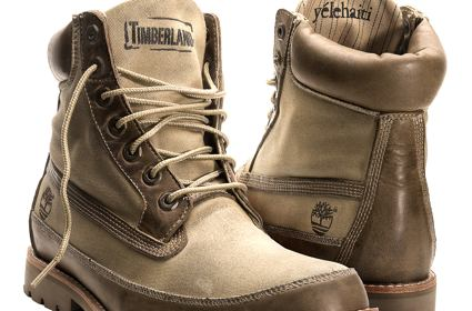 Timberland and Wyclef boot collaboration