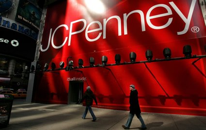JCPenney may be in some legal hot water over a new ad campaign.