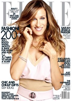 Sarah Jessica Parker on the December issue of Elle