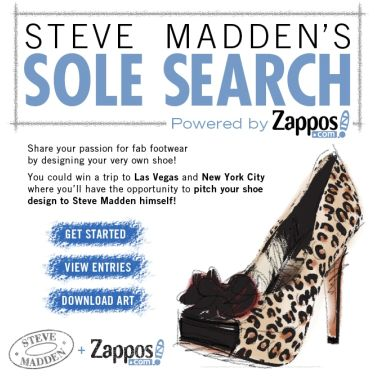 Steve Madden and Zappos.com 'Sole Search' Contest