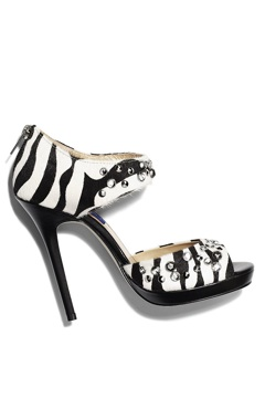 Jimmy Choo for H&M zebra stiletto.
