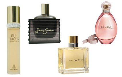 best-selling celeb scents