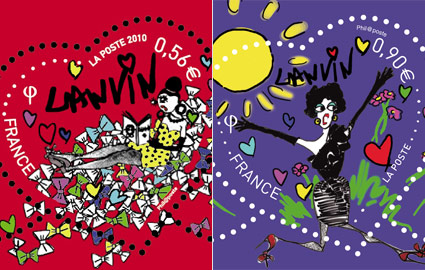 Lanvin stamps