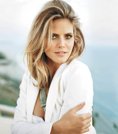 Instyle February 2010 issue Heidi Klum