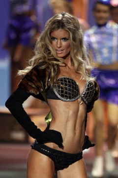Marisa Miller victoria's secret fantasy $3 million dollar bra