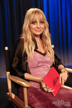 Nicole Richie Project Runway Guest Judge Season 7