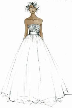 Oscar de la Renta wedding gown capsule collection
