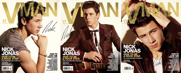 Nick Jonas VMan Covers
