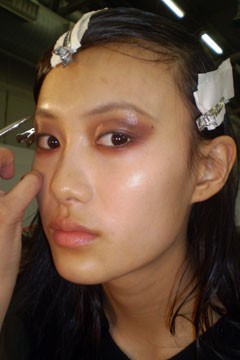 Alexander Wang Fashion Week Fall 2010 Backstage Beauty