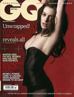anne hathaway british gq march cover armpit