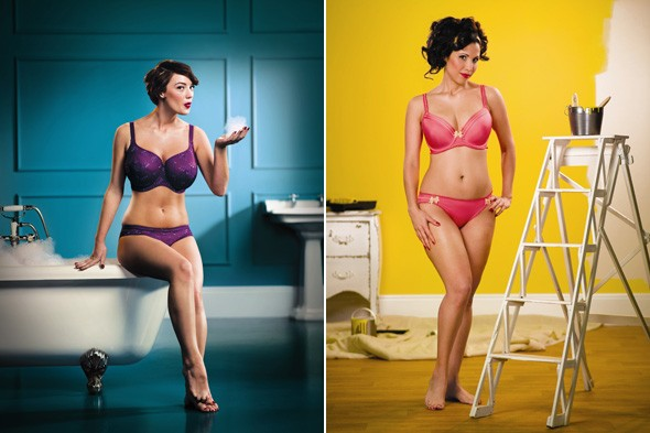 bravissimo casts curvy customers in sexy lingerie ad campaign