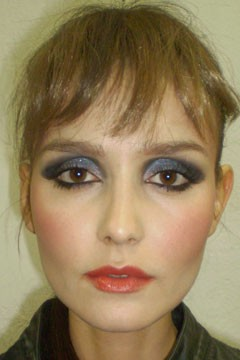 Cesar Galindo Fall 2010 Backstage Beauty Fashion Week
