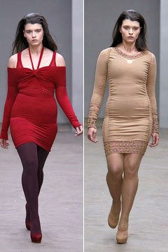 crystal renn mark fast fall 2010 runway
