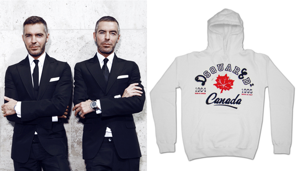 DSquared&sup2;'s Dean and Dan Caten Olympics sweatshirt