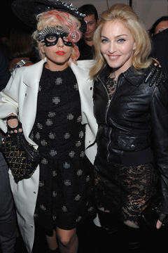 Lady Gaga Madonna Marc Jacobs Runway Show