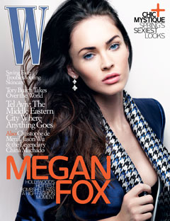 Megan Fox W Magazine Cover