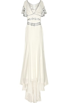 Temperley white wedding dress