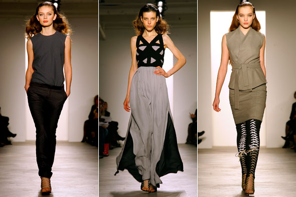 Juan Carlos Obando Fashion Week Fall 2010 runway show