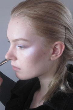 Preen Fall 2010 Backstage Beauty