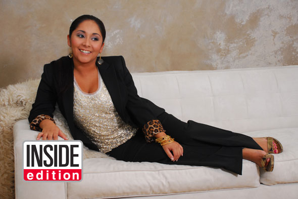 snooki makeunder pant suit inside edition sofa jersey shore