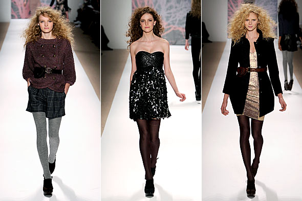 Tibi fall 2010 fashion week runway 