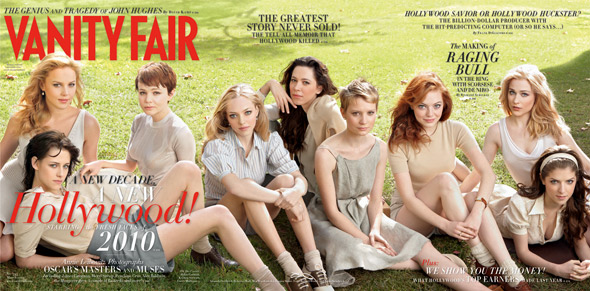 Vanity Fair Hollywood Issue Kristen Stewart Abbie Cornish Carey Mulligan Amanda Seyfried Anna Kendrick Evan Rachel Wood