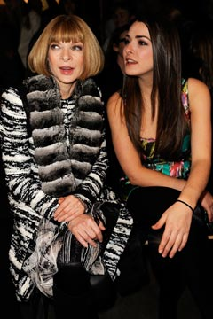 anna wintour bee shaffer front row