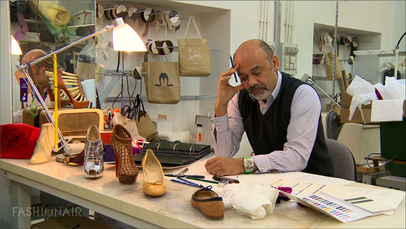 christian louboutin sketching jazz shoes