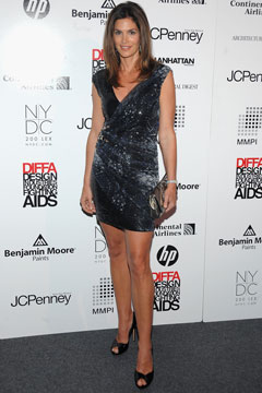 cindy crawford metallic mindress legs diffa awards
