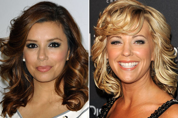 Eva Longoria Kate Gosselin Loose Curls