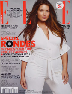 french elle plus size issue
